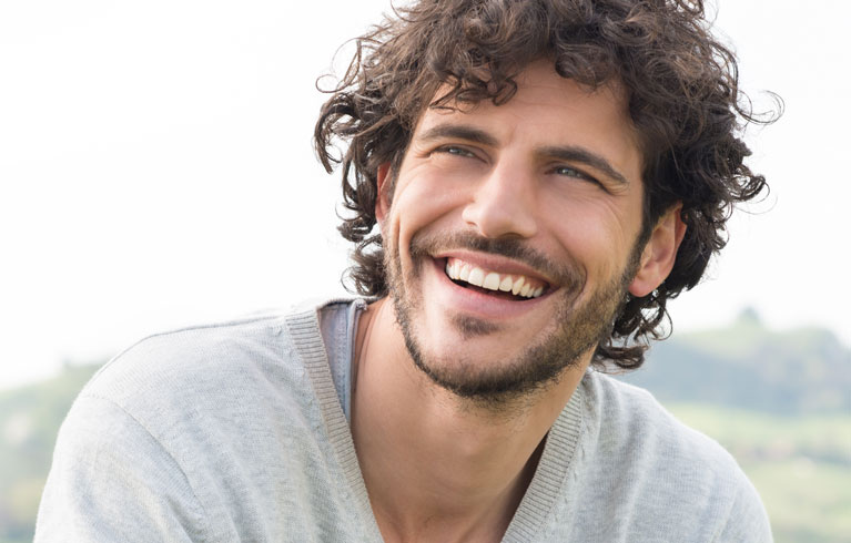 North Tampa Dentistry | Banner Image of Smiling Man